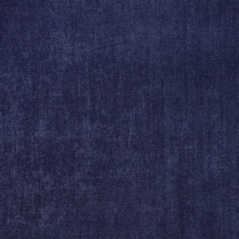 navy blue smooth polyester velvet upholstery fabric by the