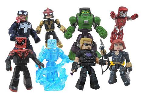 Venom Marvel Figure Mini Mates toys r us marvel minimates wave 17 popgoesmanila