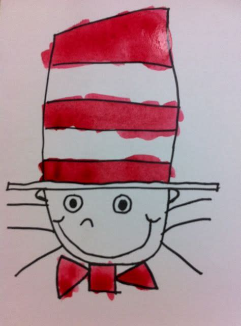 doodle cat how to make a hat dr seuss week how to draw the cat in the hat pegram