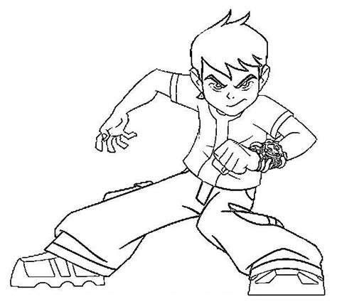 ben 10 alien force coloring pages learn to coloring