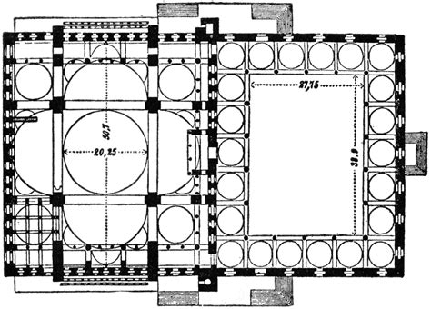 blue mosque floor plan image gallery mosque plan
