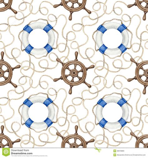 seamless nautical pattern nautical pattern seamless