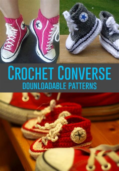 pattern crochet converse slippers converse slippers free crochet pattern the whoot