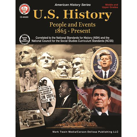Us History Middle Upper Grades Book Cd 404265 Carson