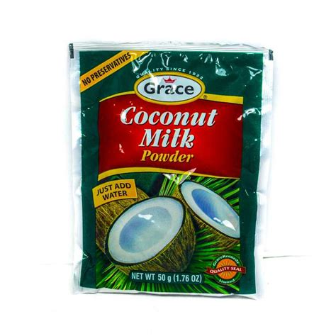 grace coconut milk powder 50g grocery shopping jamaica