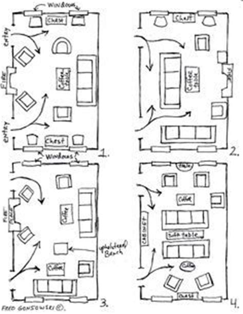 14 X 20 Living Room Layout 1000 Ideas About Arrange Furniture On Narrow