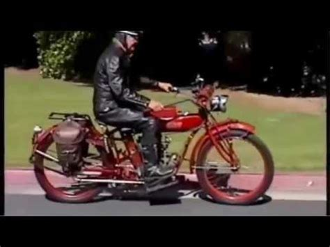 Indian Motorrad Club Deutschland 1915 indian motorcycle touring with the horseless carriage