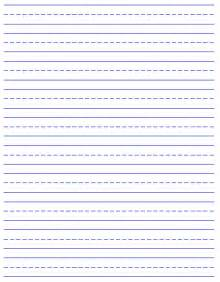 printable writing templates 6 best images of free printable handwriting paper free
