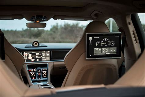 porsche panamera 2018 interior 2018 porsche panamera turbo s e hybrid first ride hyper