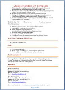 Claim Handler Cover Letter by Auto Insurance Claims Adjuster Related Keywords Claims Handler Cover Letter Exle Claim
