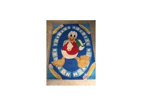 tappeto walt disney felpa disney paperino posot class