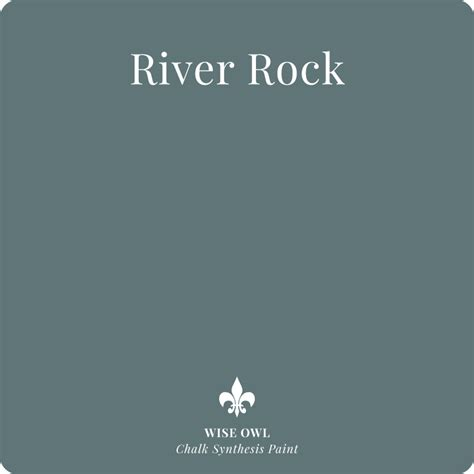 chalk paint rocky river our color palette wise owl chalk synthesis paint