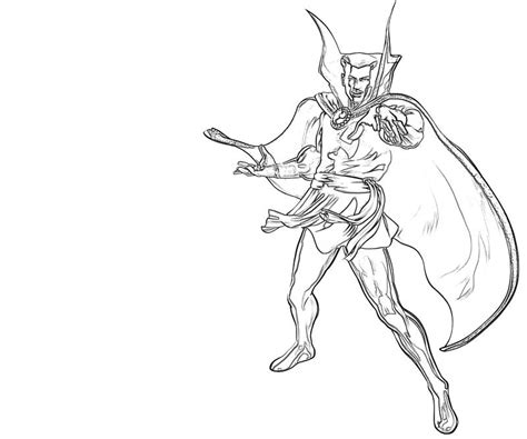 doctor strange coloring page doctor strange character lowland seed