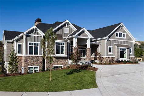Exterior Colors For Craftsman Style Homes - adams house craftsman exterior salt lake city by sierra homes construction