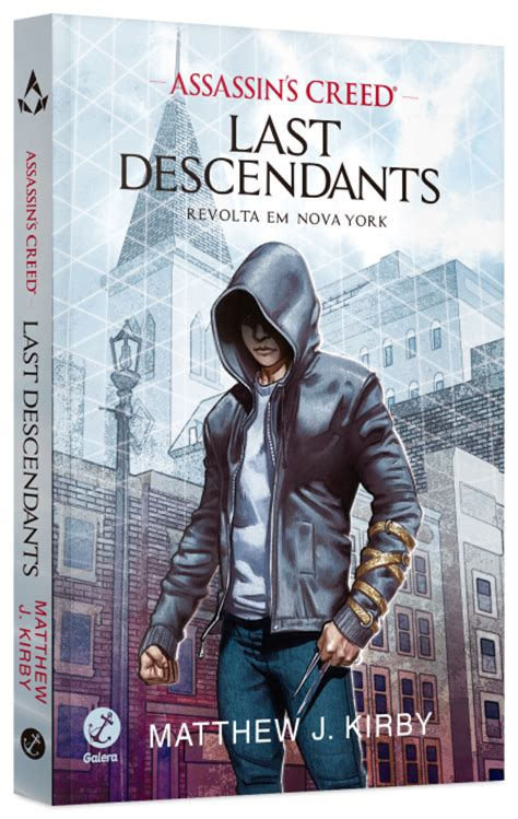 libro last descendants assassins creed assassin s creed last descendants revolta em nova york matthew j kirby lan 231 amento meu