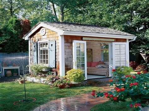 shabby chic shed ideas    shed ideas