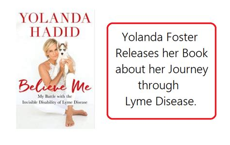 yolanda foster books believe me my battle with the invisible disability of