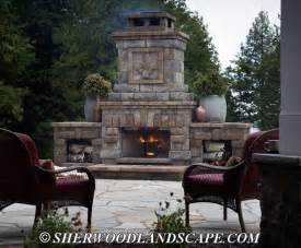 outdoor fireplace gallery oakland county outdoor fireplaces