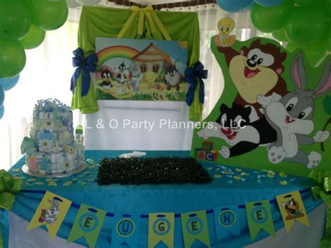Baby Looney Tunes Baby Shower Supplies by Baby Looney Tunes Baby Shower Ideas Photo 1 Of 34