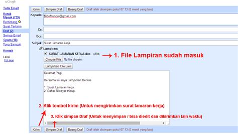 10 contoh surat lamaran kerja email ben
