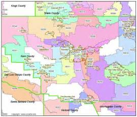 bakersfield ca zip codes kern county zip code boundary map