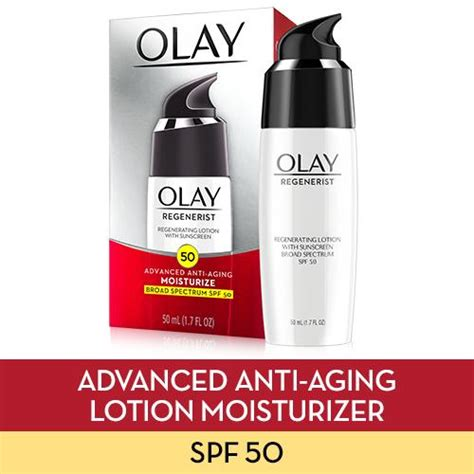 Olay Sunblock Spf 50 olay regenerist regenerating lotion with sunscreen broad spectrum spf 50 1 7