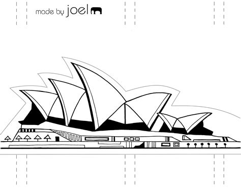 coloring page of sydney opera house 8 images of sydney opera house coloring page sydney