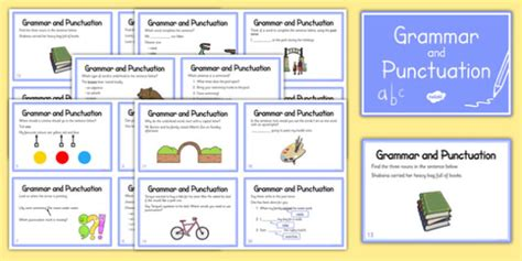 1407140701 grammar and punctuation years year 2 grammar and punctuation challenge cards grammar