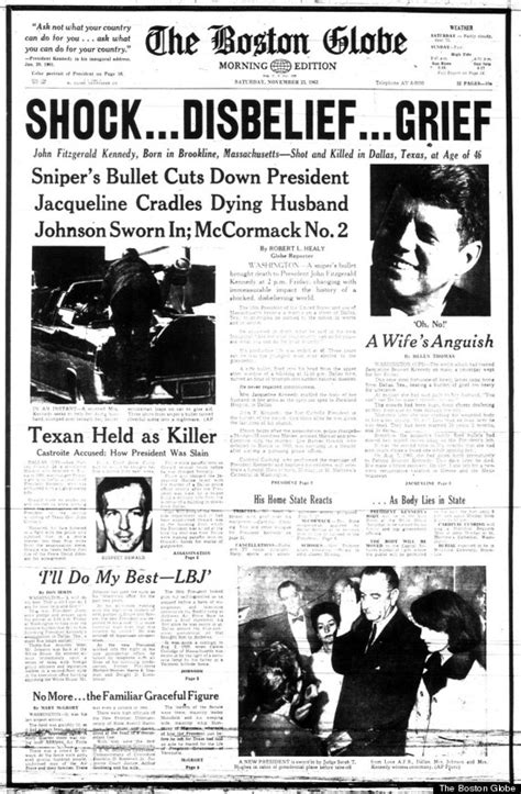 Chappaquiddick New York Times How The World S Newspapers Reported Jfk S Assassination Huffpost