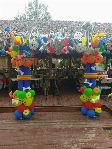 Paw Patrol Decorations by Best 25 Paw Patrol Balloons Ideas On Paw