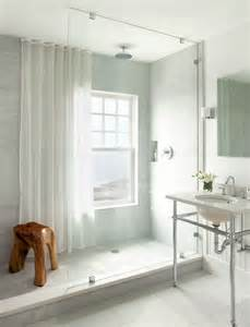 window in shower shower curtain for privacy and to