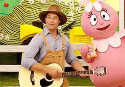 josh holloway yo gabba gabba yo gabba gabba on