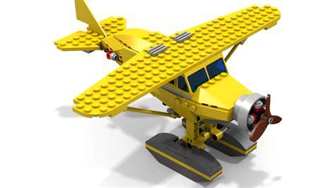 Lego Plane Yellow 1 lego ideas tintin airplane