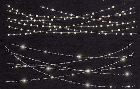 string of lights clipart string lights clip by lun design bundles