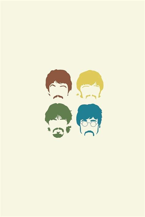 wallpaper android beatles beatles multi colour heads android wallpaper