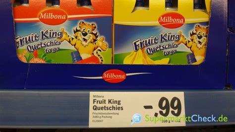 fruit king milbona fruit king quetschies to go banane kalorien