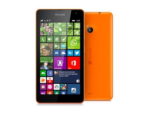 microsoft mobile windows 10 mobile rolling out to microsoft lumia 535