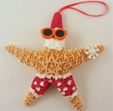 beach decor starfish christmas ornament beach christmas