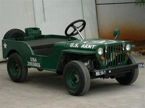 Jeep Go Kart Army Jeep Go Kart My Hobbie Cars Places