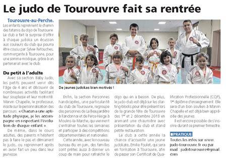 Le Blog Du Judo Club De Tourouvre La Presse Fait 233 Cho De