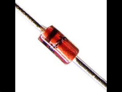 diode in47 como saber el voltaje de un diodo zener