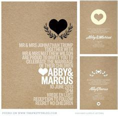 Craft Paper Wedding Invitations - 1000 images about wedding invites and stationery on