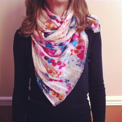 7 Ways To Tie A Scarf Or Pashmina by Miss 7 Ways To Tie A Scarf