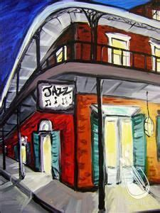 paint with a twist new orleans jazz painting by judith dazzio quot sax player quot this painting