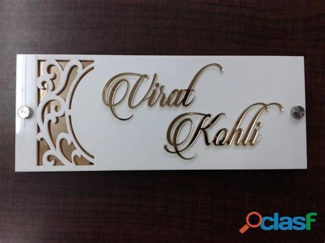Decorative Name Plates For Home by Acrylic Doors India Acrylic Kitchen Cabinets Cost India