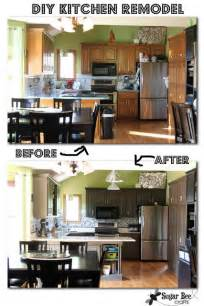 Kitchen Cabinet Makeover Diy Roundup 10 Inspiring Kitchen Cabinet Makeovers 187 Curbly Diy Design Community
