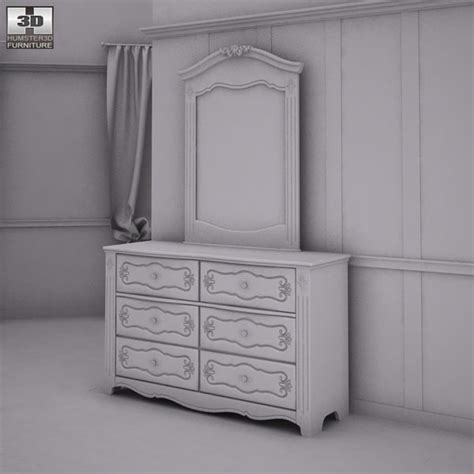 ashley exquisite bedroom set ashley exquisite bedroom set 3d model hum3d