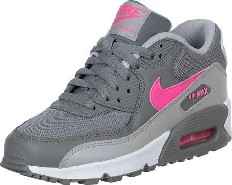 Nike Air Max 90 nike air max 90 mesh gs schoenen grijs roze