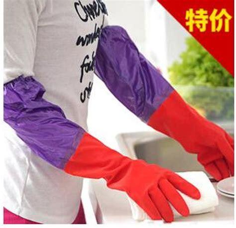 Sarung Tangan Untuk Mencuci jual sarung tangan dapur untuk cuci panjang tebal bahan