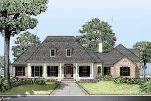 French Country House Plans With Porches French Country House Plan Country French House Plan